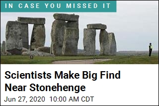 Big Discovery Near Stonehenge Adds to Site's Mystique