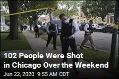 102 People Were Shot in Chicago Over the Weekend