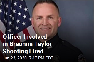 Officer Involved in Breonna Taylor Shooting Fired