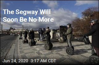 The Segway Will Soon Be No More