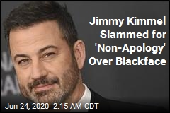 Jimmy Kimmel Apologizes for Blackface, Without Using That Word