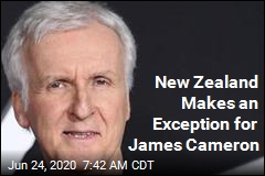 New Zealand Lets In James Cameron During Lockdown