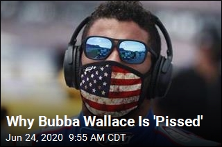 Why Bubba Wallace Is 'Pissed'