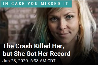 The Crash Killed Her, but She Got Her Record