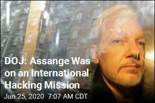 DOJ: Assange Was on an International Hacking Mission