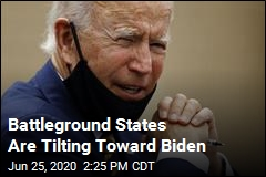 A Poll of Swing States Is Good News for Biden