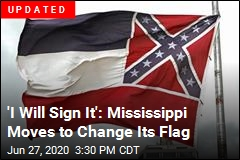 Mississippi Moves to Change Its Flag
