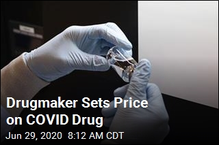 Drugmaker Sets Price on COVID Drug