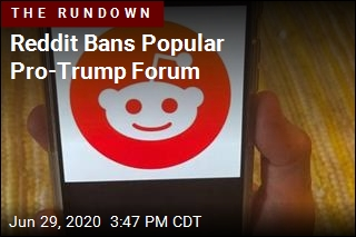 Reddit Bans Popular Pro-Trump Forum