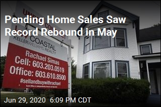 Pending Home Sales Saw Record Rebound in May