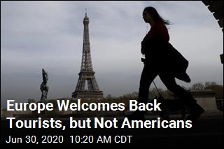 Europe Welcomes Back Tourists, but Not Americans