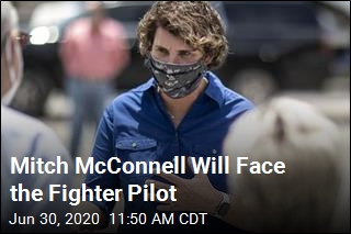 Mitch McConnell Will Face the Fighter Pilot