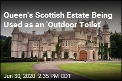 Queen's Scottish Estate Being Used as an 'Outdoor Toilet'