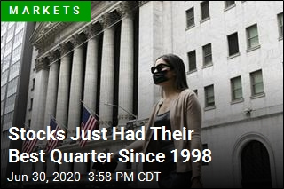 Stocks Just Had Their Best Quarter Since 1998