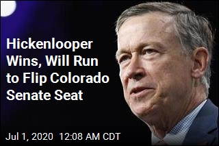 A Win for Hickenlooper in Key Colorado Senate Primary
