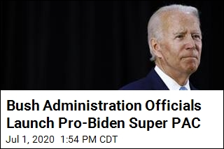 Bush 43 Alumni Launch Pro-Biden Super PAC