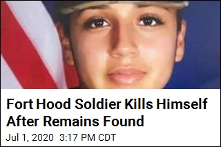 Suspect in Soldier's Disappearance Kills Himself