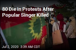 80 Die in Protests After Popular Singer Killed