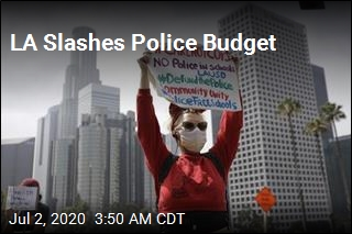 LAPD Funding Cut by $150M