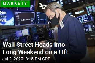 Wall Street Heads Into Long Weekend on a Lift
