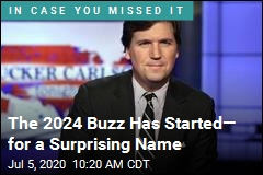 Tucker for President? It's a Thing, but in 2024