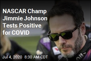 NASCAR Champ Jimmie Johnson Tests Positive for COVID