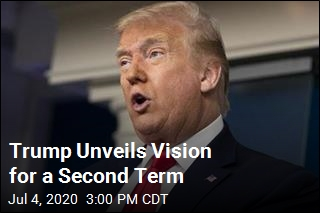 Trump Unveils 'Vision' for a Second Term