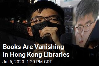 Books Are Vanishing in Hong Kong Libraries