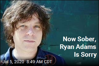 Now Sober, Ryan Adams Is Sorry