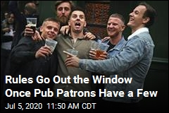 Rules Go Out the Window Once Pub Patrons Have a Few
