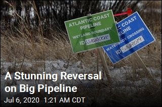 A Stunning Reversal on Big Pipeline
