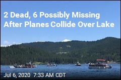 2 Dead in Mid-Air Plane Collision Over Idaho Lake