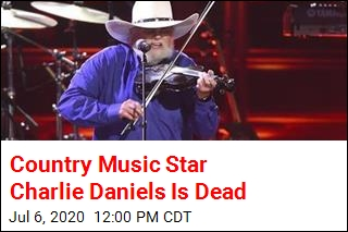 Country Music Star Charlie Daniels Is Dead