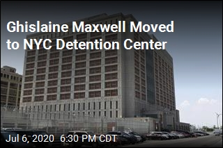 Ghislaine Maxwell Moved to NYC Detention Center