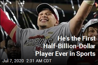 He's the First Half-Billion-Dollar Player Ever in Sports