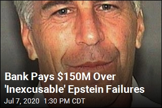 Bank Penalized $150M for Epstein Dealings