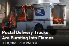 Postal Delivery Trucks Are Catching Fire—a Lot