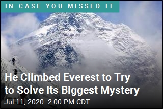 He Climbed Everest to Try to Solve Its Biggest Mystery