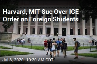 Harvard, MIT Sue in Defense of Foreign Students