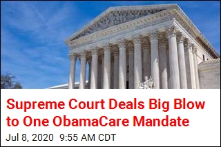 Supreme Court Deals Big Blow to One ObamaCare Mandate