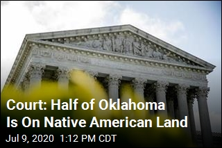 Court: Half of Oklahoma Is On Native American Land