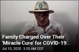 Family Charged With Selling Bleach as COVID-19 Cure