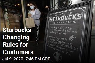 Starbucks to Make Masks a Requirement