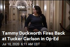 Tammy Duckworth Fires Back at Tucker Carlson in Op-Ed