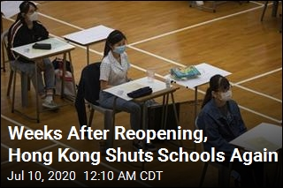 Hong Kong Shuts Schools Again After Rise in Cases
