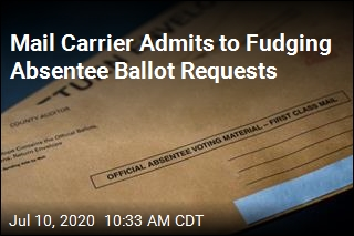 Mail Carrier Admits to Fudging Absentee Ballot Requests