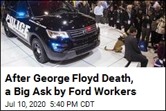 Ford Workers Ask Company to Stop Making Police Vehicles