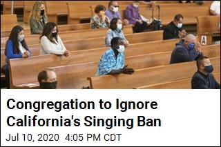 'We Will be Singing' Despite California Ban, Pastor Says