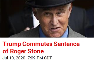 Trump Commutes Sentence of Roger Stone