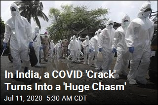 In India, a COVID 'Crack' Turns Into a 'Huge Chasm'